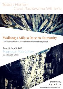 A Mile Walk Race To Humanity Exhibit