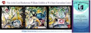 Carol Rashawnna Williams Exhibits At Seattle Convention Center